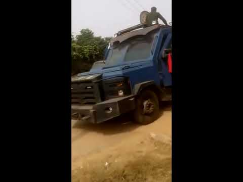 Police attack Civil Defence office in ibadan