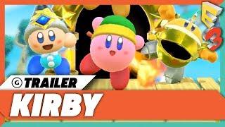 Kirby Nintendo Switch Announcement Trailer   E3 2017 Nintendo Spotlight