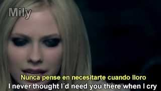 Avril Lavigne - When You're Gone Subtitulado Español Ingles