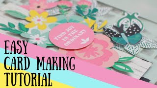 DIY Card Making Tutorial ~ Quick And Easy!