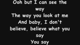 Elliott Yamin You Say Lyrics
