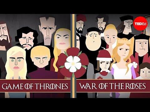 Války, které inspirovaly Hru o trůny