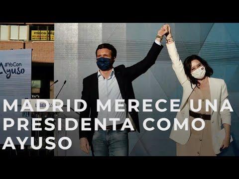 Madrid merece una presidenta como Ayuso