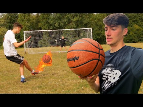Can you play Football with a Basketball?