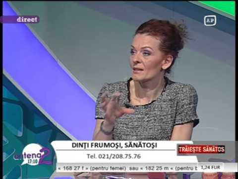 Dr. EMILIA MILICIN – Antena2 – Dinți frumoși, sănătoși