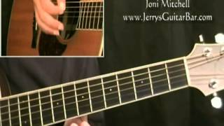 How To Play Joni Mitchell People's Parties (intro only)