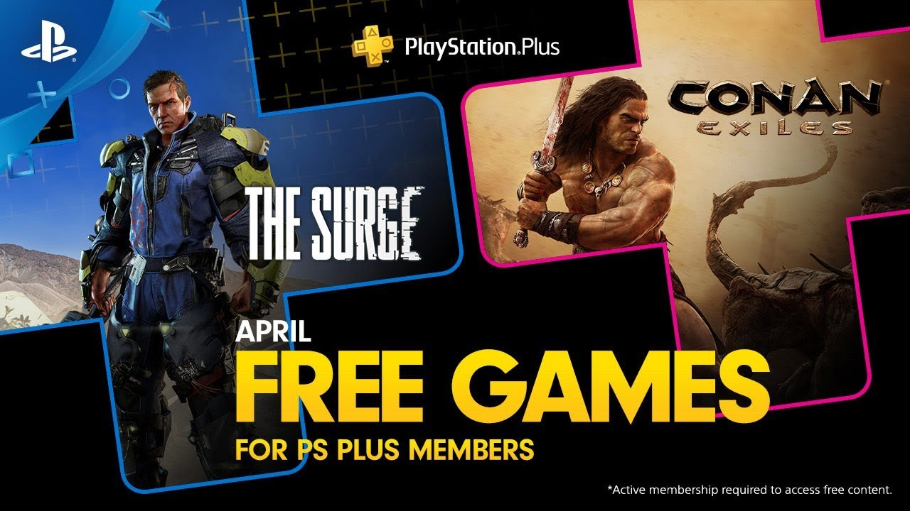 PlayStation Plus: Free Games for April 2019