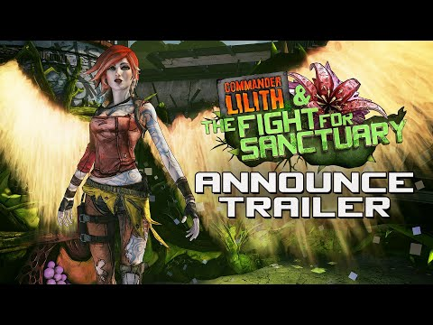 Borderlands 2: Commander Lilith & the Fight for Sanctuary Official Trailer thumbnail