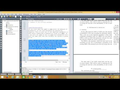 Download How To Write Ieee Research Paper In Latex In Very