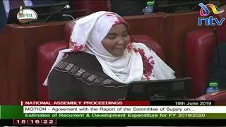 Speaker Muturi, Duale Reprimand Wajir Women Rep Fatuma Gedi