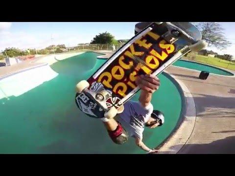 Skateboarding Hawaii starring Heimana Reynolds