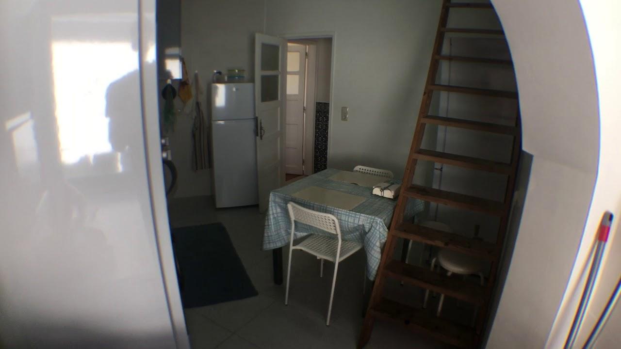 Single Bed in Rooms for rent in a furnished 3-bedroom residence hall in Encarnação