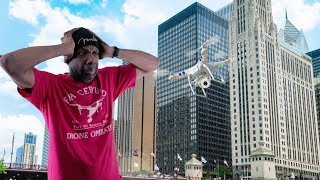 Can I Fly My Drone In Chicago | Drone Crashes Into High Rise