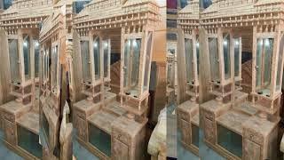 Dressing Table Designs.সেগুন কাঠের ড্রেসিং টেবিল দাম। Wooden Dressing Table Price