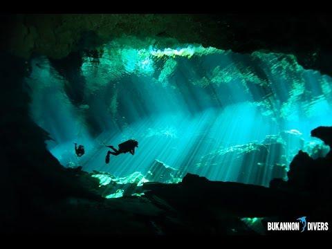Diving the Mexico Yucatan Cenotes – Highlights (HD)