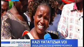 Wachimbaji mchanga Voi wapinga juhidi za serikali za kusitisha uchimbaji mchanga