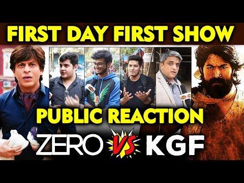 ZERO VS KGF | First Day First Show | कौनसी फिल्म देखोगे पहले? | PUBLIC REACTION | Shahrukh Vs Yash