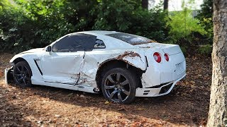 I Bought a REALLY TOTALED Nissan GT-R from a Salvage Auction & I'm going to Rebuild It!