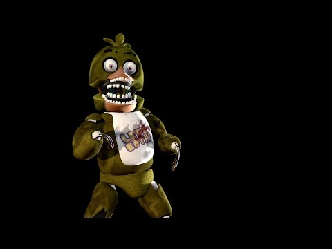 Old Un Withered Chica Papercraft Pt 1 By Endofoxy On - EpicGaming