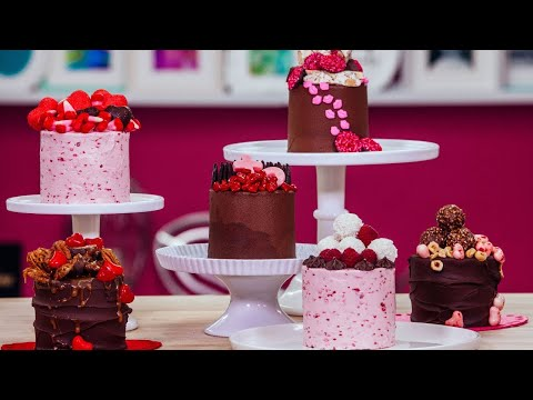 Ultimate Valentine's Day Baking Ideas | Unique Small Treats | How To Cake It Step By Step