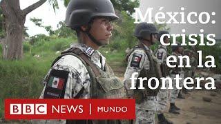 Tapachula: la ciudad en la frontera sur de México en la que miles de migrantes están varados
