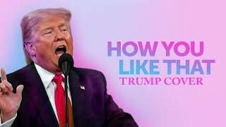 How You Like That - Donald Trump Cover Parody - Blackpink