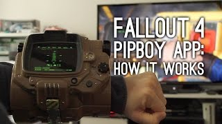 Fallout 4 Pip-Boy App: How It Actually Works - Fallout 4 Companion App Gameplay