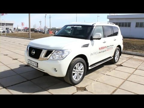 2013 Nissan Patrol. Start Up, Engine, and In Depth Tour.