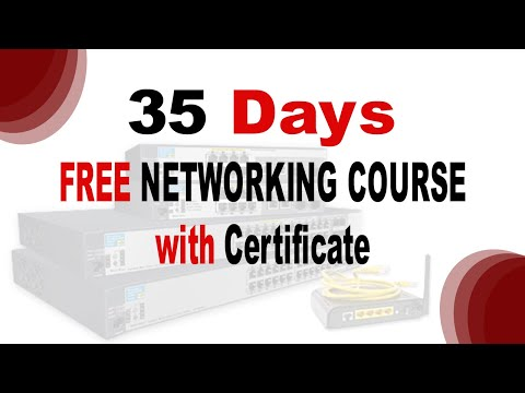 35 Days FREE NETWORKING COURSE // LEARN NETWORKING ONLINE // ENROLL NOW - LINK IN DESCRIPTION