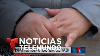 Padres de niños que crucen solos serán sujetos a deportación | Noticiero | Noticias Telemundo