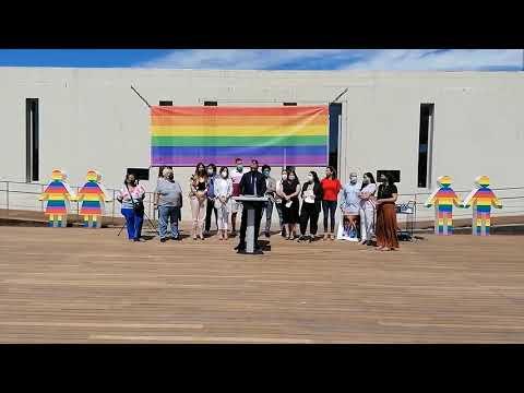 La Diputación de Málaga se suma a la celebración del Día Internacional contra la LGTBIQ+ Fobia