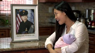 """Slain NYPD officer's widow shares story of """"miracle"""" baby"""