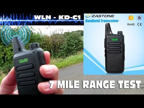 Superb Budget Radio - WLN KD-C1 - Range Test