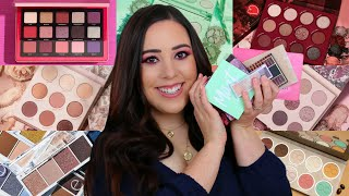 BEST & WORST EYESHADOW PALETTES 2020! RANKING NEW PALETTES RELEASES
