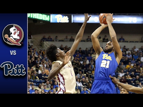 Florida State vs. Pittsburgh Men's Basketball Highlights (2016-17)