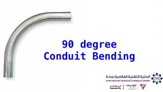 90 degree Conduit Bending