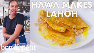 Hawa Makes Somali Pancakes (Lahoh) | From the Test Kitchen | Bon Appétit