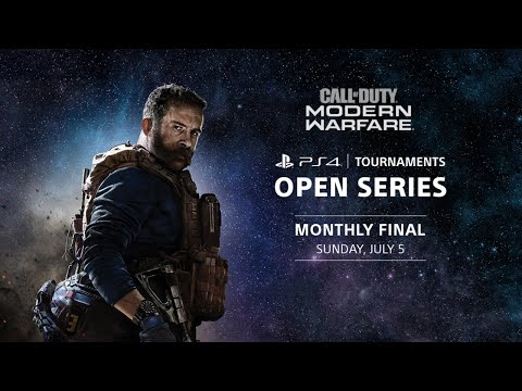 PS4 Tournaments: Open Series - Call of Duty: Modern Warfare Monthly North America Finals
