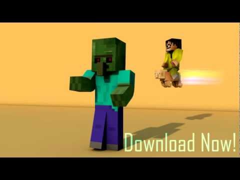 Cinema4d Zombie Villager Rig Dancing Moves Minecraft Project