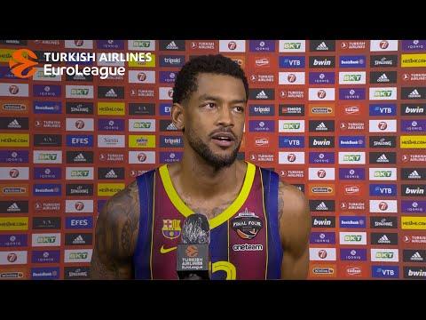 Post-game Interview: Cory Higgins, FC Barcelona
