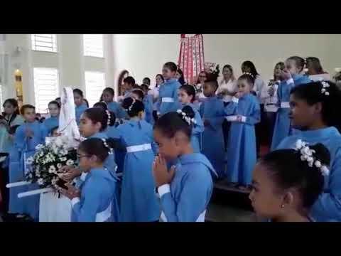 Coroação catequese Mães e filhos