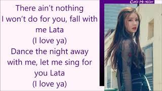 (G)I-DLE ~ LATATA (English Ver.) ~ Lyrics