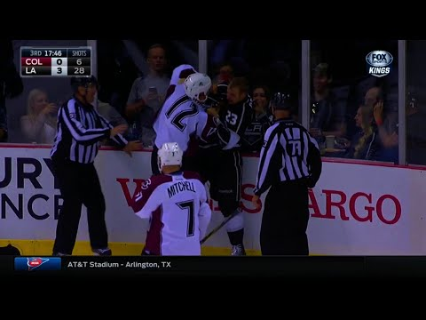 Dustin Brown vs. Jarome Iginla
