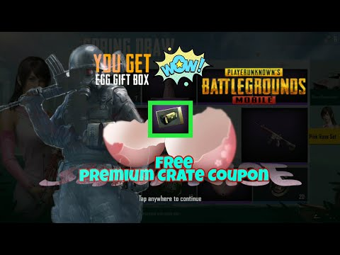 FREE PREMIUM AND SUPERIOR Crates in PUBG Mobile! Coupons- Feast Para