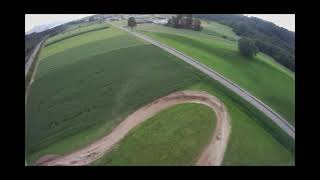 Chasing Motocross Riders with an FPV Drone