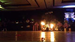 VJ Tiumalu Fireknife Dance.  HNFF Luau 2014