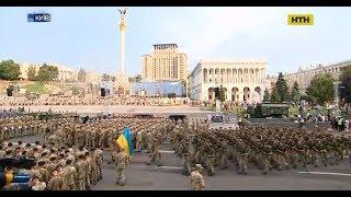 У Києві триває репетиція параду до Дня Незалежності
