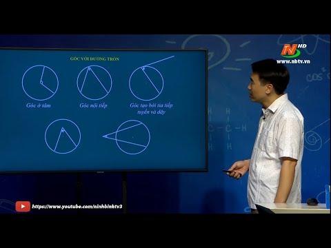 Hình 9 - Góc có đỉnh bên trong hay bên ngoài đường tròn