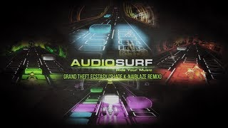 Audiosurf - Feed Me - Grand Theft Ecstasy (Shade K-Naiblaze Remix) - Battle - Ninja Mono
