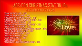 ABS-CBN Christmas Station IDs 2015-2002 Compilation